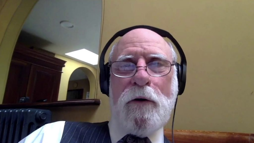 Even Vint Cerf, father of the Internet, loves studying how it works!