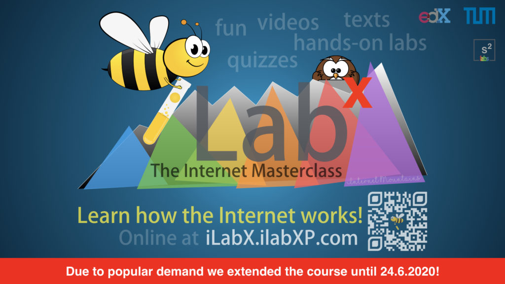 iLabX extended: your chance to LEARN how the INTERNET works NOW!