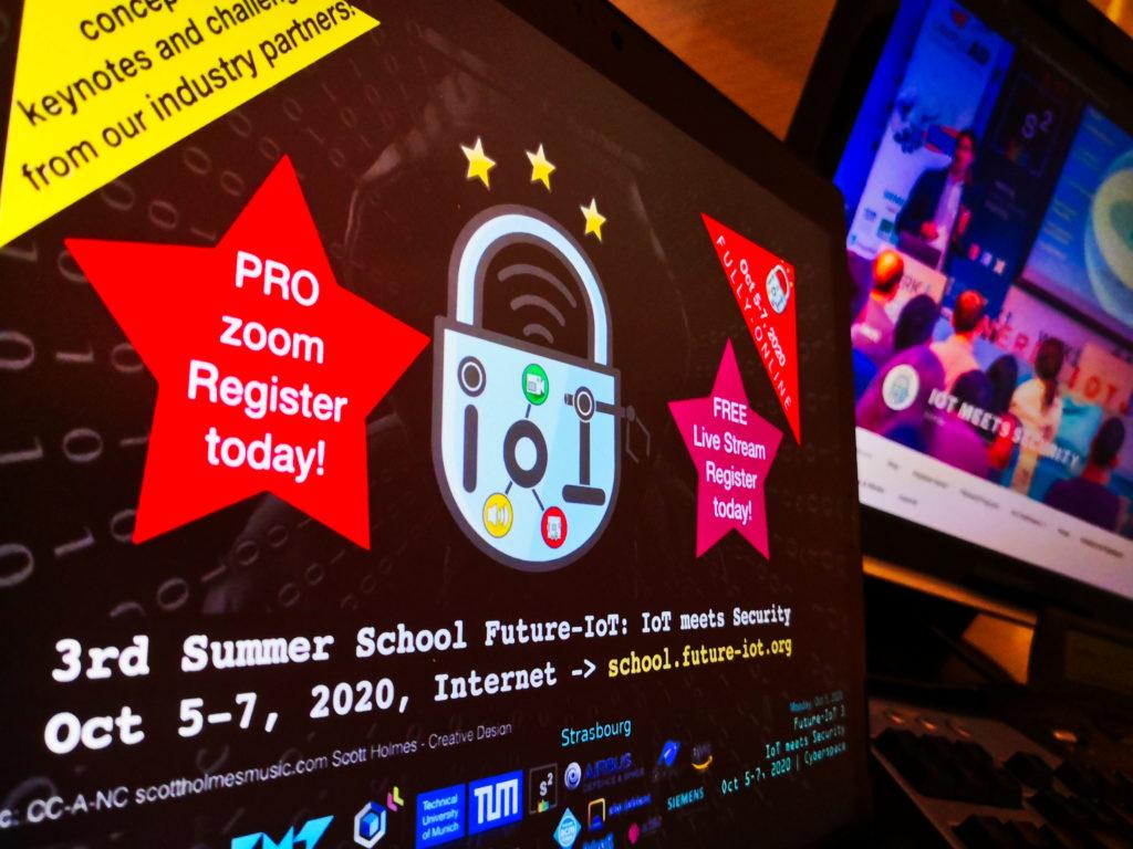 "Autumn highlight: ""IoT meets Security"" PhD School!"